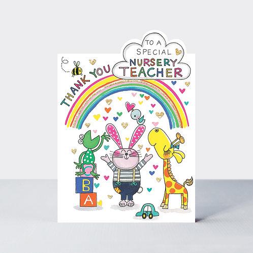 Thank You Special Nursery Teacher