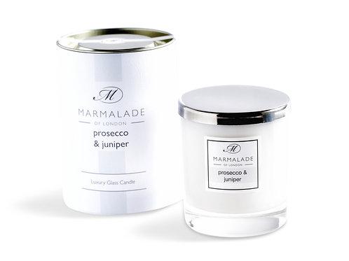 Prosecco & Juniper Large Glass Candle