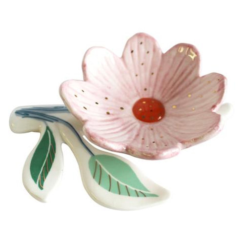 Secret Garden Flower Trinket Dish