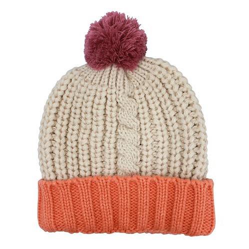 Loop Cream Hat