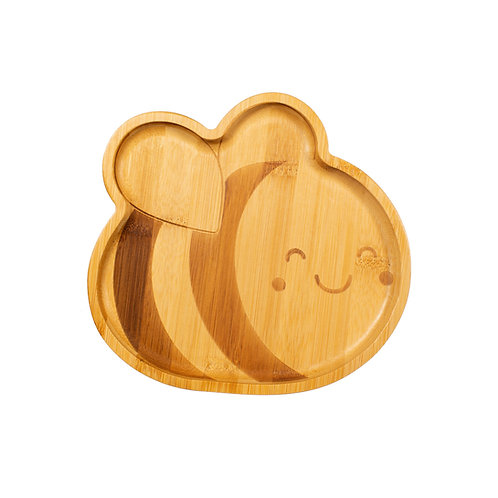 Bamboo Bee Plate