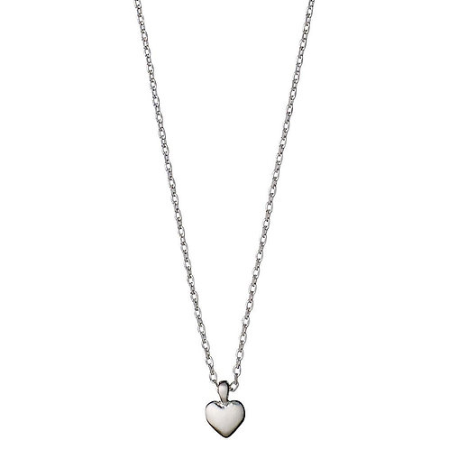 Sophia Heart Silver-Plated Necklace - Small
