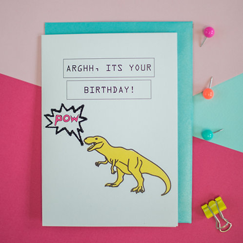 ARGHH, It's Your Birthday Card