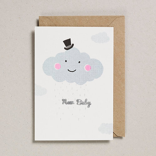 New Baby Cloud Card