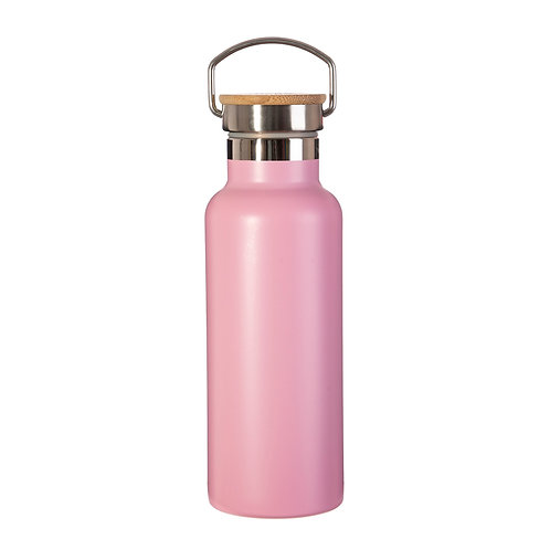 Hot Pink Stainless Steel Water Bottle