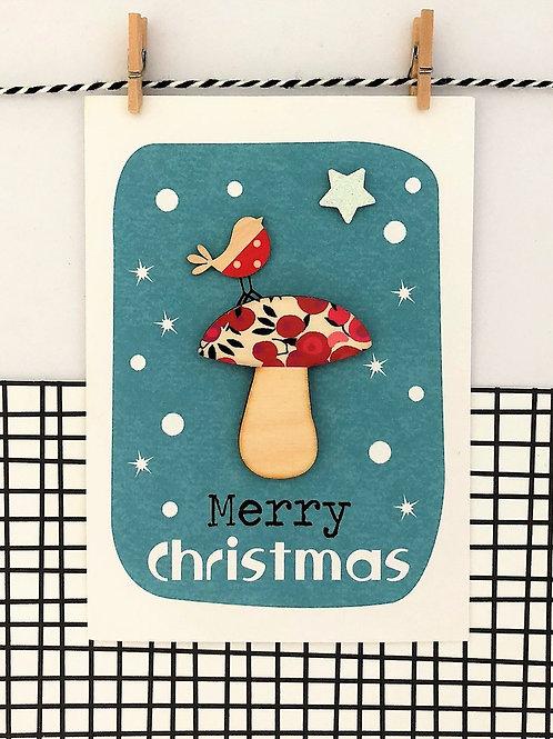 Merry Christmas Toadstool