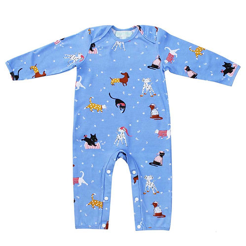 Cats and Dogs Sleepsuit