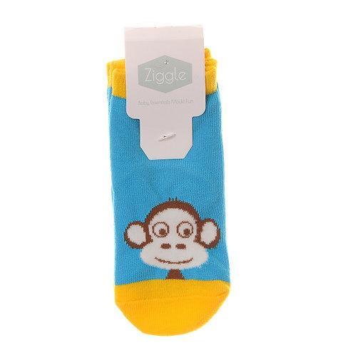 Marley Monkey Sock Set - 2 Pairs