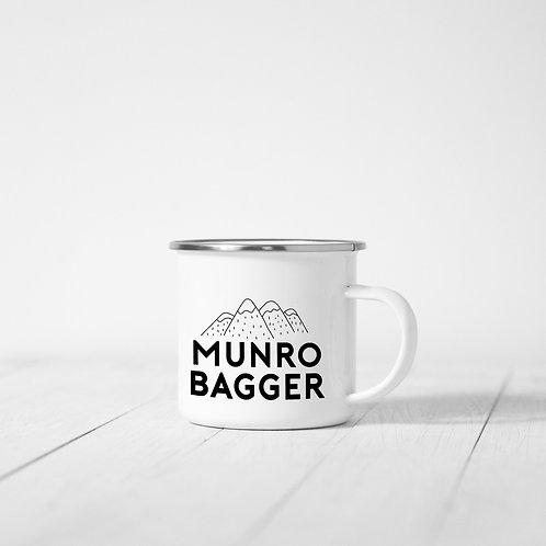 Munro Bagger Enamel Mug