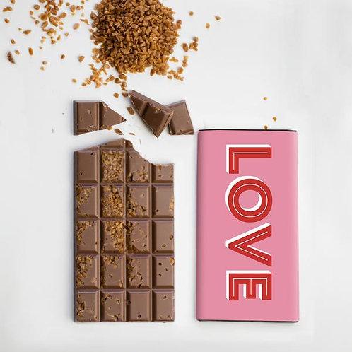 Love Salted Caramel Chocolate Bar