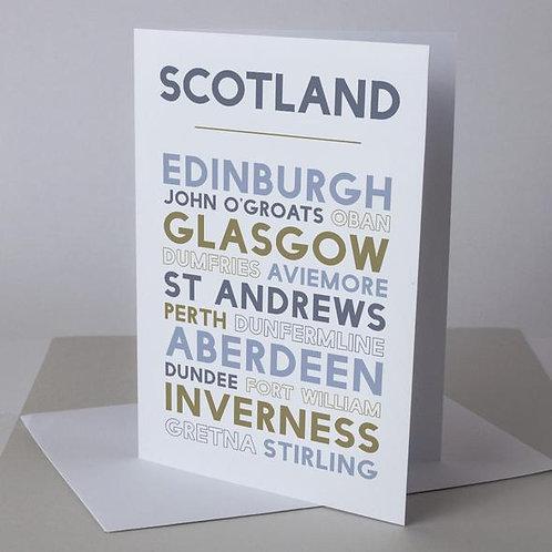 Scotland Greeting Card