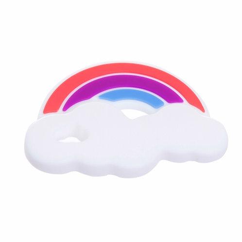 Rainbow Teether - Purple