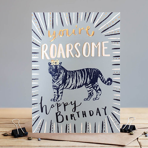 You're Roarsome! Card