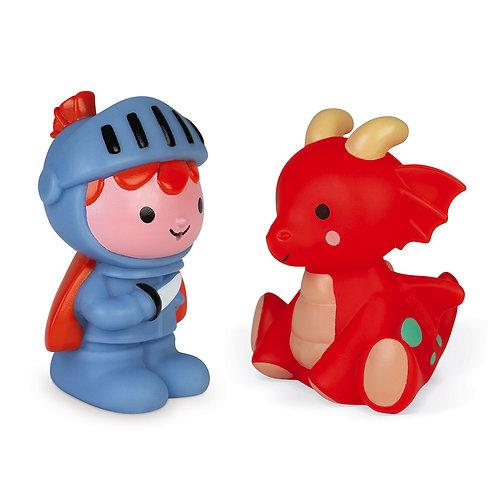 Knight & Dragon Bath Toys