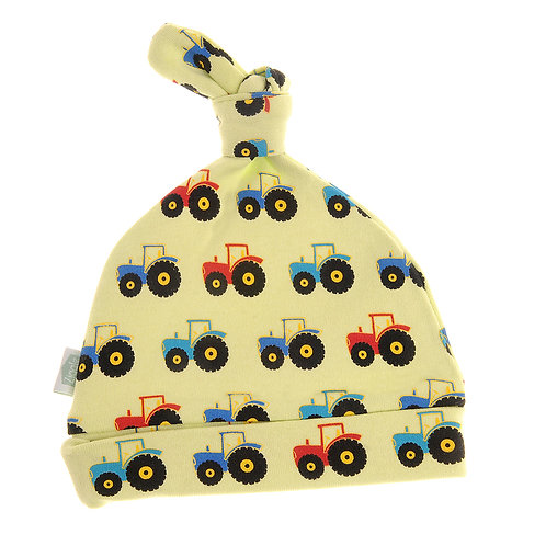 Tractor Cotton Baby Hat