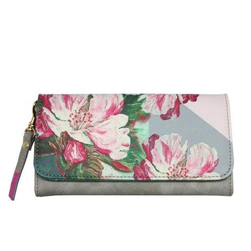 Framed Floral Wallet