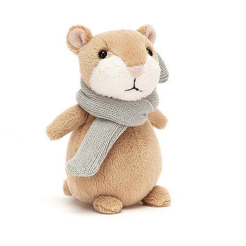 Happy Cinnamon Hamster