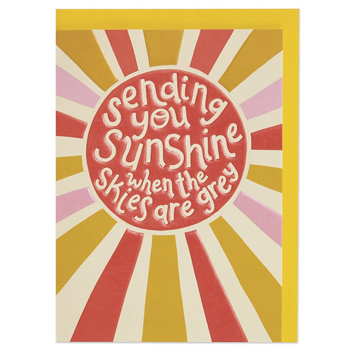 Sending You Sunshine When the Skies are Grey Card