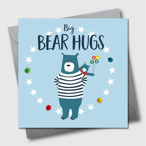 Big Bear Hugs Father's Day Card