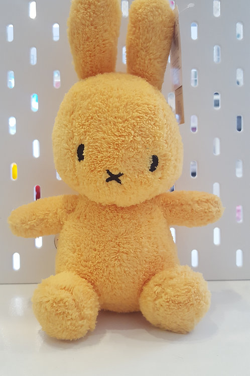 Miffy Terry Soft Toy - Yellow