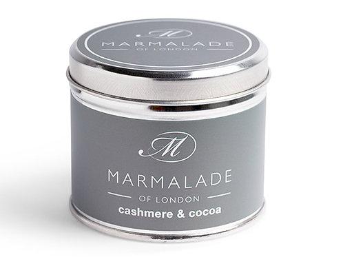 Cashmere & Cocoa Tin Candle
