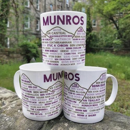 Munros Bone China Mug