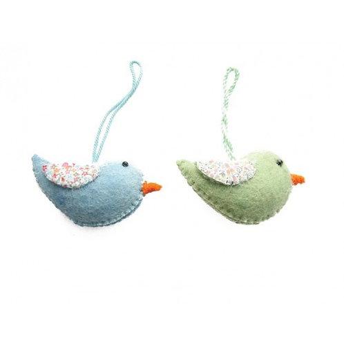 Pastel Hanging Birds
