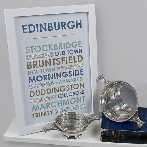 A4 Edinburgh Print - Unframed