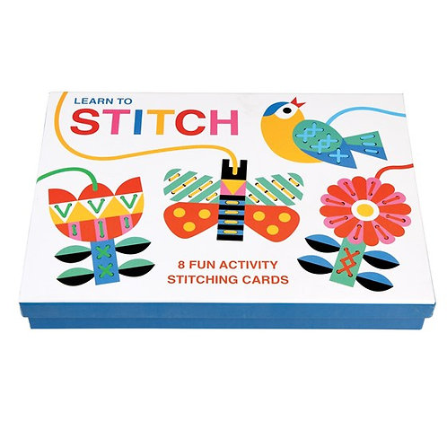 Cardboard Learn to Stitch Activity