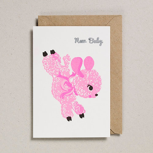 New Baby Lamb Card