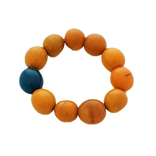 Bolota Bracelet - Yellow/Teal