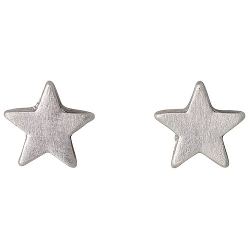 Ava Star Silver-Plated Studs - Small