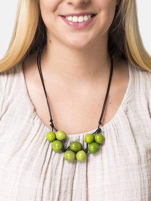 Bolota Adjustable Necklace - Green