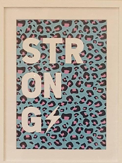 'STRONG' Framed Print