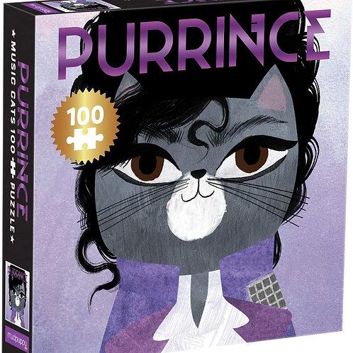 Purrince Music Cats 100 Piece Jigsaw