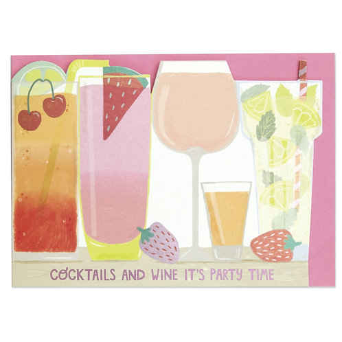 Cocktails and Wine Card