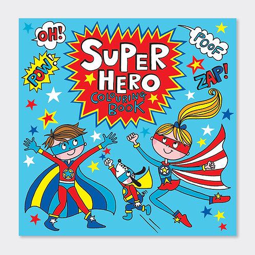 Super Hero Colouring Book