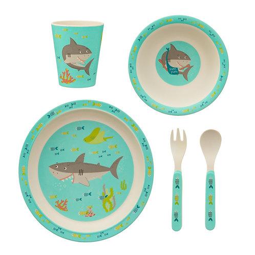 Shark Bamboo Tableware