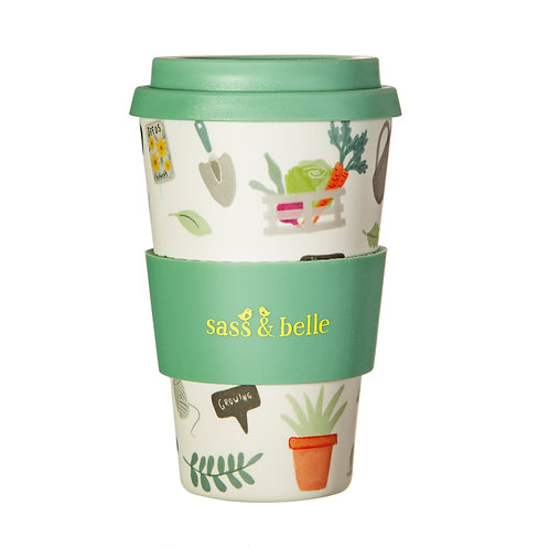 Gardening Bamboo Coffee Cup