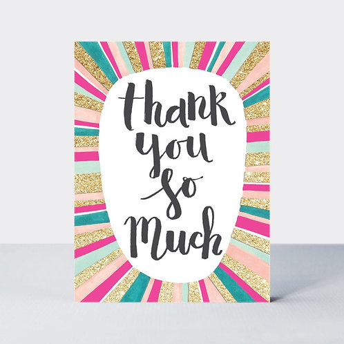 Thank You So Much - Pack of 5