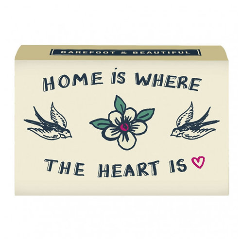 Juniper & Lime 'Home Is Where The Heart Is' Soap Bar.