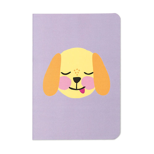 Dog Notebook by Raspberry Blossom