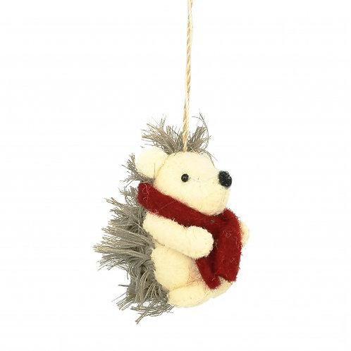 Hedgehog Cream/Brown Decoration