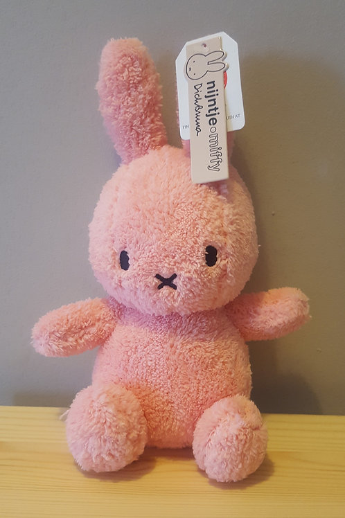 Miffy Terry Soft Toy - Pink