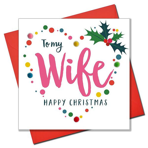 To My Wife Happy Christmas