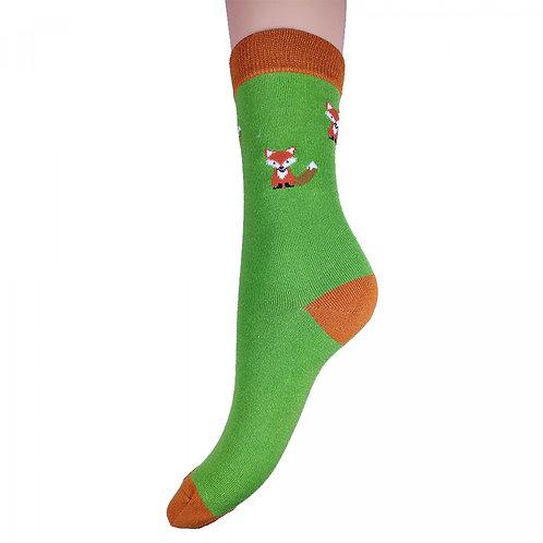 Fox Bamboo Socks 4-7