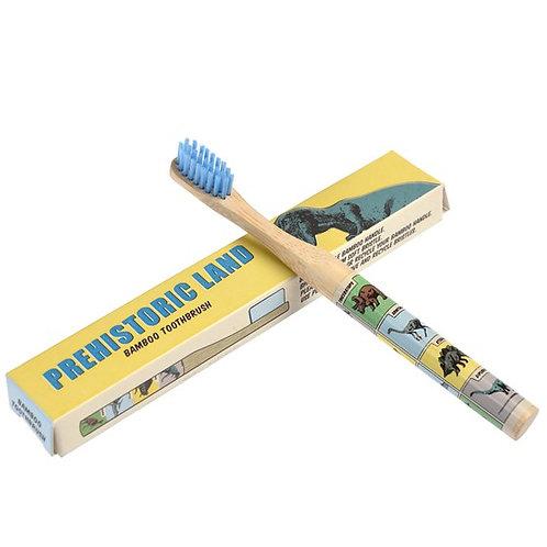 Prehistoric Land Bamboo Toothbrush
