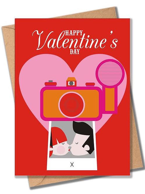 Valentine Selfie Card