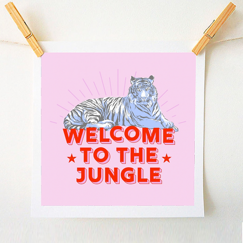 'Welcome to the Jungle' Print