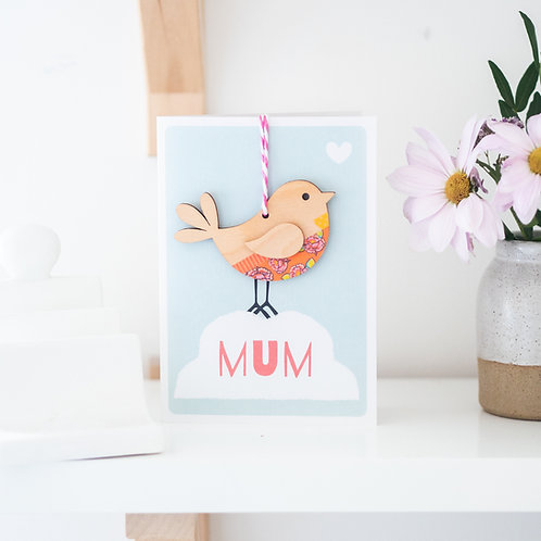 Luxury Keepsake Card for Mum